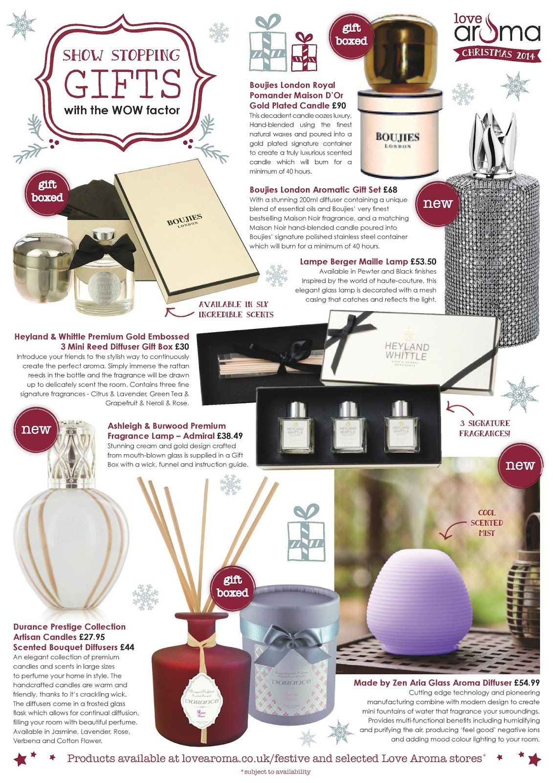 The Best Home Fragrance Products To Make Your Home Look, Feel And Smell  Festive This