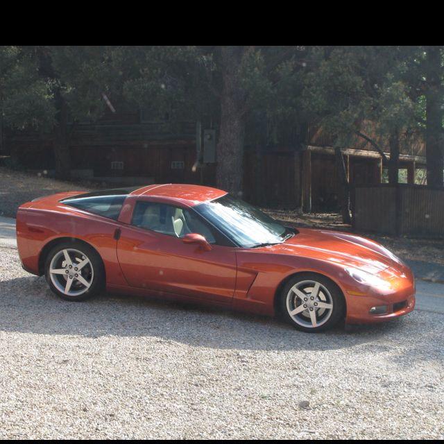 2005 C6 Corvette Daytona Sunset Orange Corvette American Muscle Cars Daytona