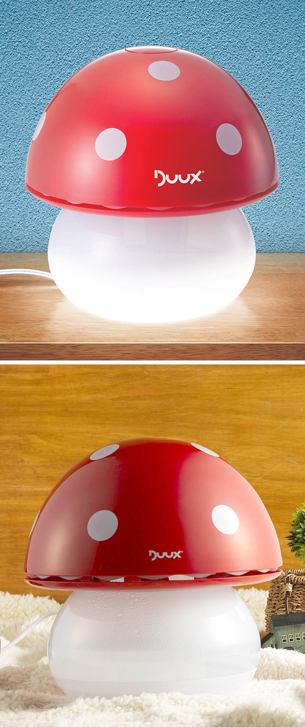 Mushroom Humidifier Nightlight Cute For Kid S Room Cool Baby Stuff Baby Room Colors Baby Friends