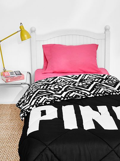 Bed In A Bag Pink Set Black Aztec Pink Cl1 Move In Day Made Easy