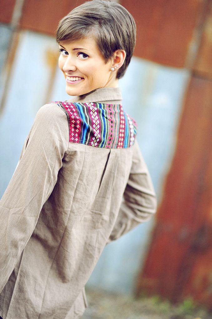 RESTOCK Small Town Girl Top: Grey