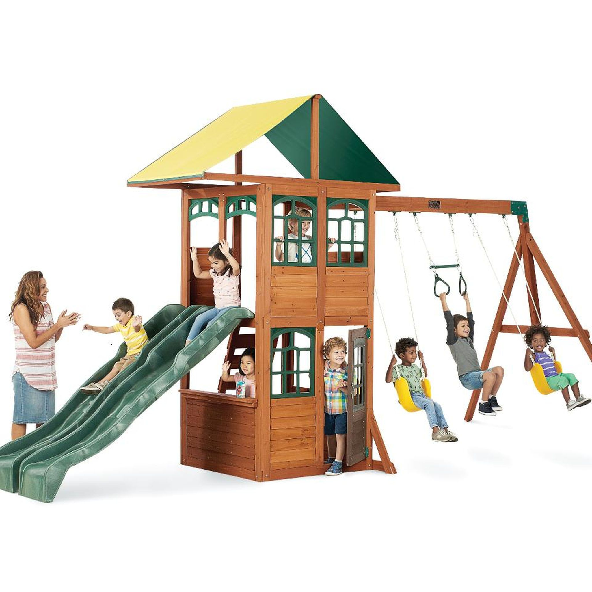 Big Backyard Swing Sets big backyard treasure cove wood swing set | your pinterest likes