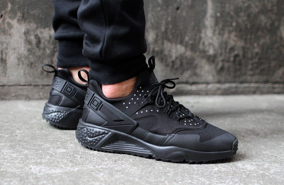 new product 9583b bb6df Nike Air Huarache Utility - Black