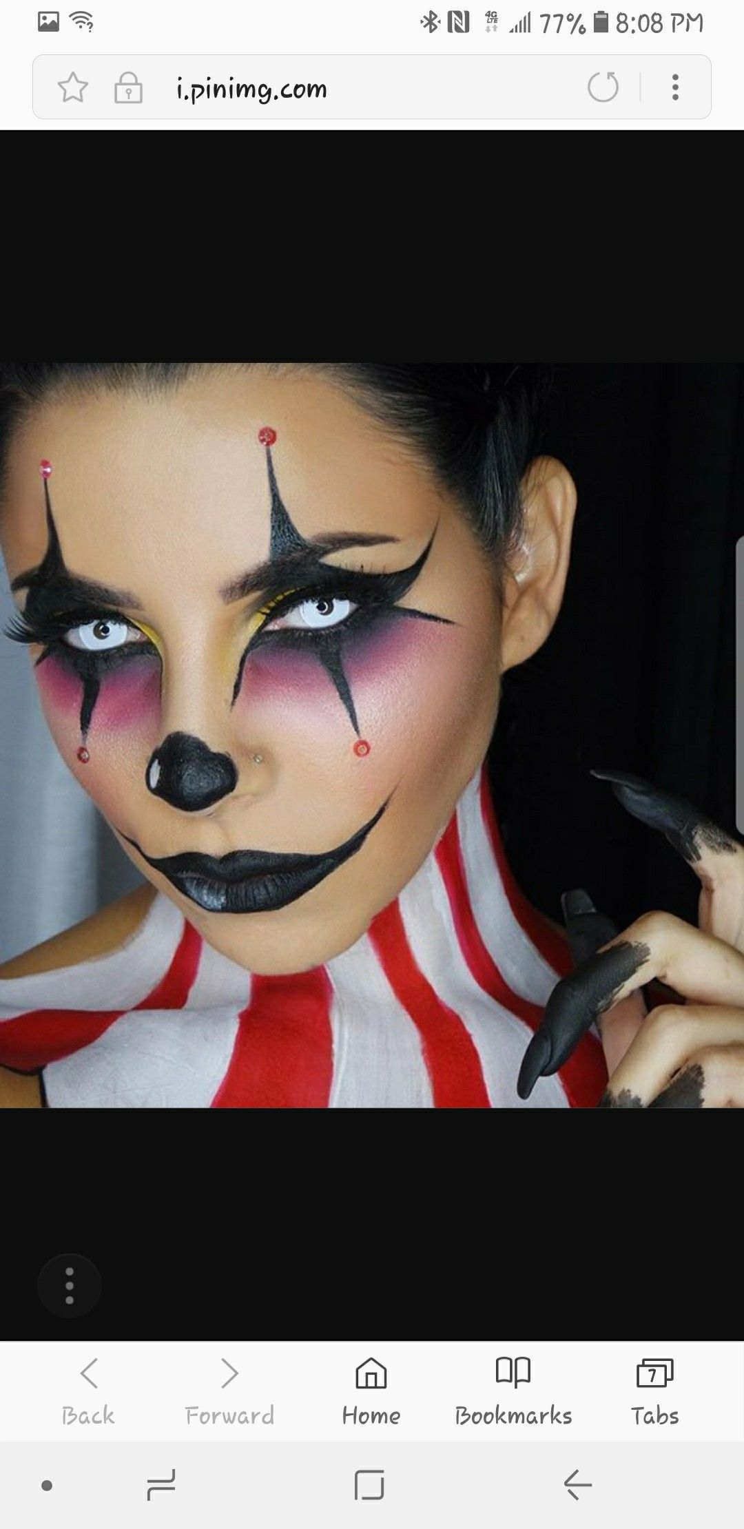 Pin by Marie Munoz on costume makeup  Pinterest  Costume makeup