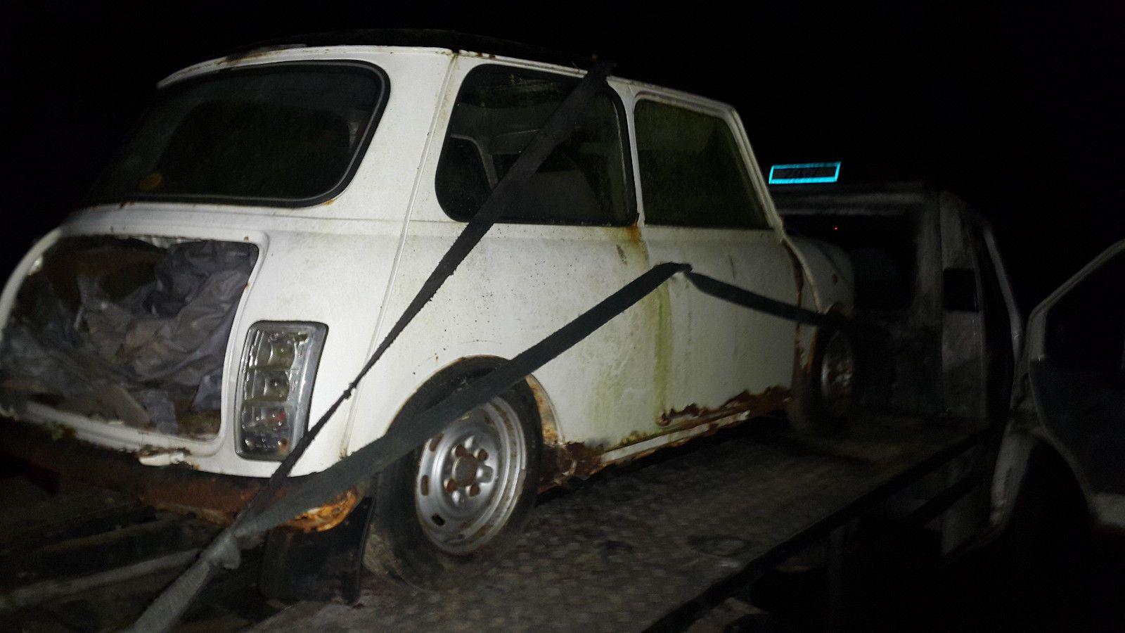 EBay Rover Mini 1990 Restoration Project Barn Find Classic Austin