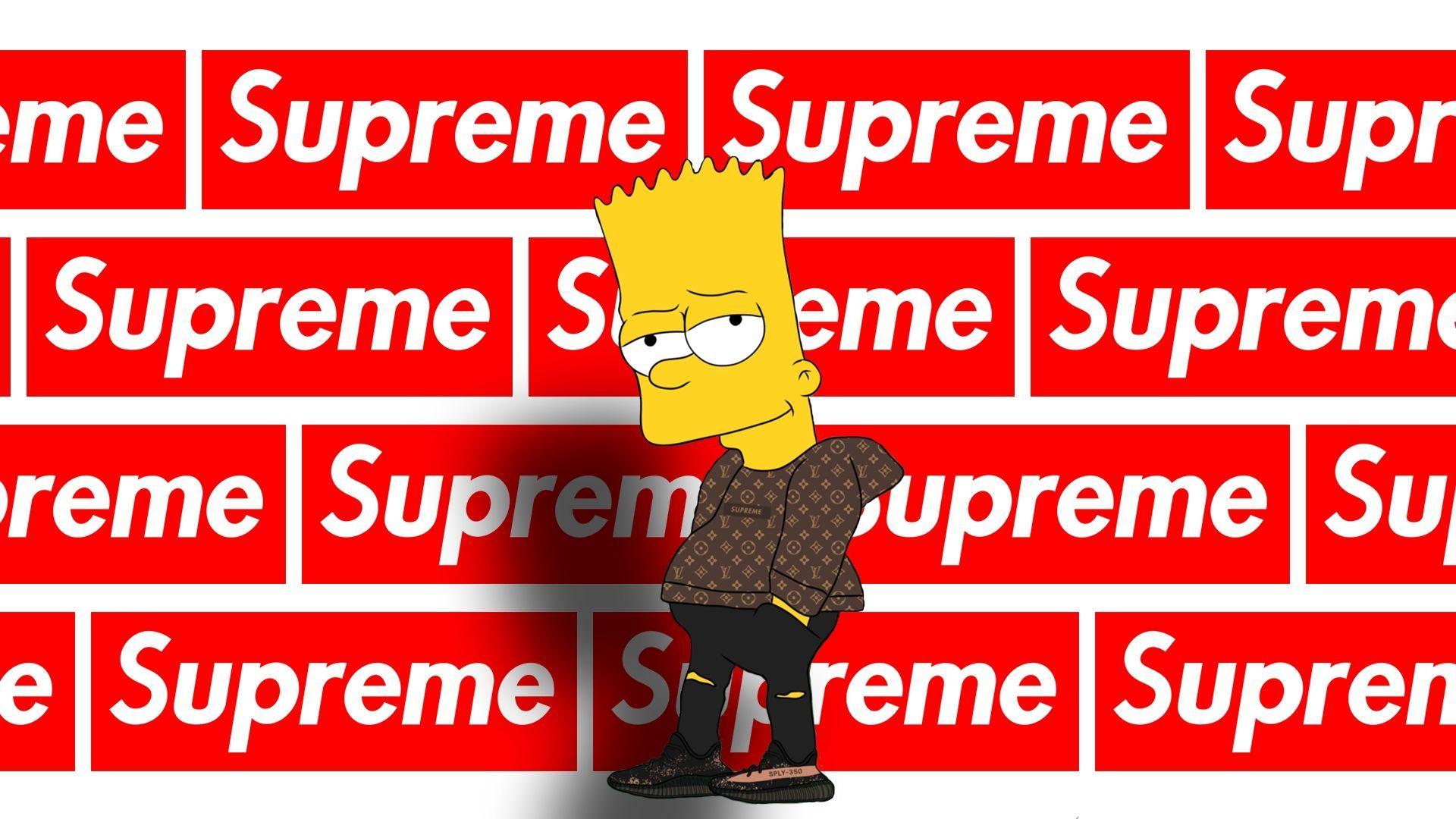 Supreme Bart Wallpapers Wallpaper Cave Intended For Simpsons Supreme Wallpapers Bart Cave Intended In 2020 Supreme Wallpaper Superman Wallpaper Supreme Wallpaper Hd