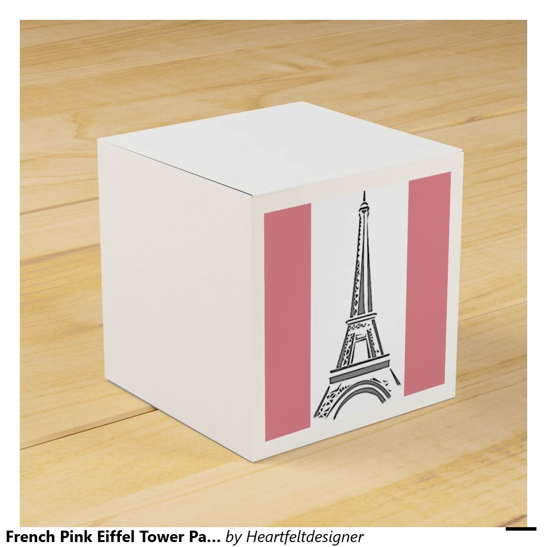 French Pink Eiffel Tower Party Favors Box Party Favor Boxes | Bridal ...