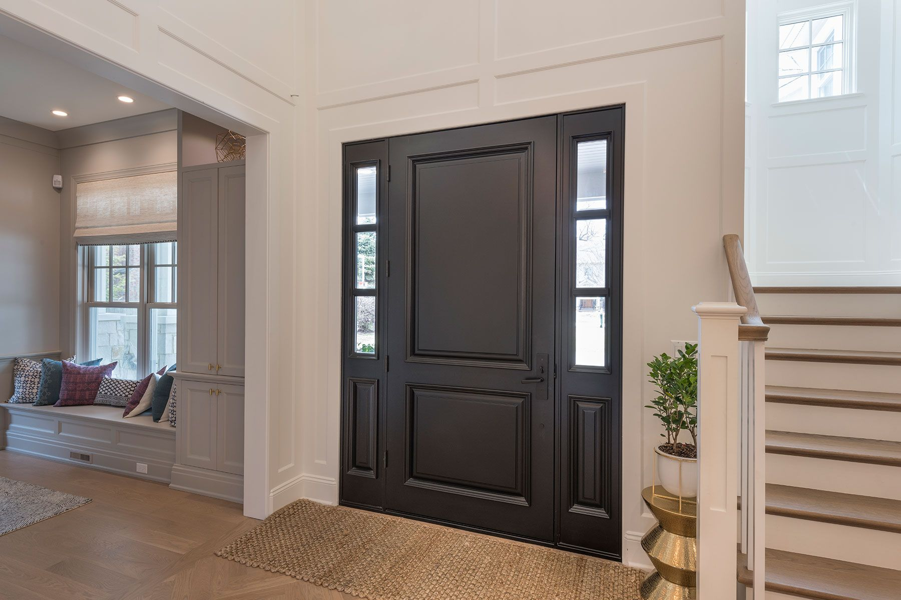 Wood Front Entry Doors In Stock Classic Solid Wood Euro Technology Front Entry Door Db 301pw 2sl Glenvi Entry Doors Custom Interior Doors Doors Interior