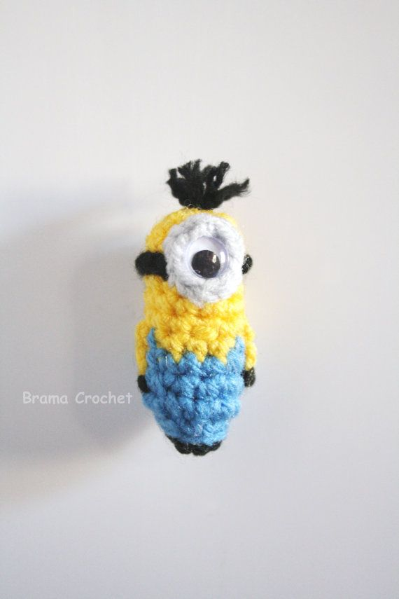 Mini Minion Despicable Me Kawaii Crochet | ME GUSTA / I LIKE ...