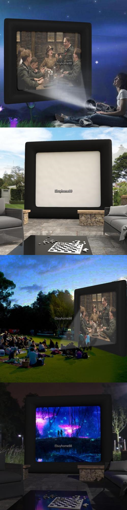 projection screens and material brand new 13x11inch outdoor