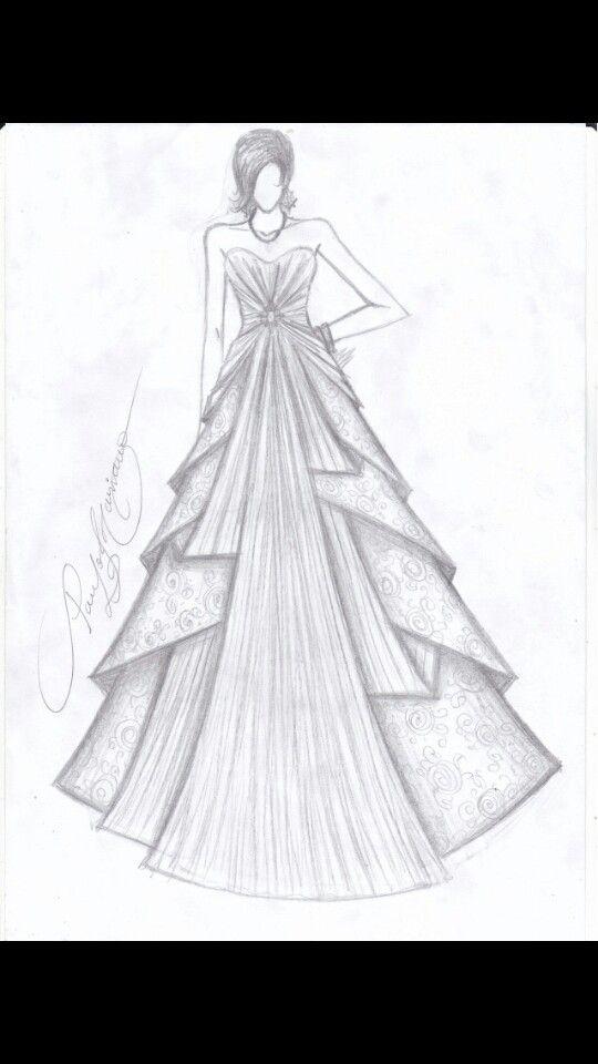 Desenho De Roupa Desenhos De Roupas Desenhos De Vestidos