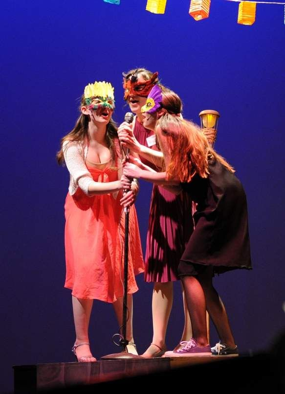 """""""Love's Labour's Lost"""" at Notre Dame High School, 2015"""