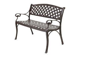 Garden Benches | Cast Aluminium Garden Bench | Free UK Delivery | 2 Seater - Kimberley Bench: Amazon.co.uk: Garden & Outdoors