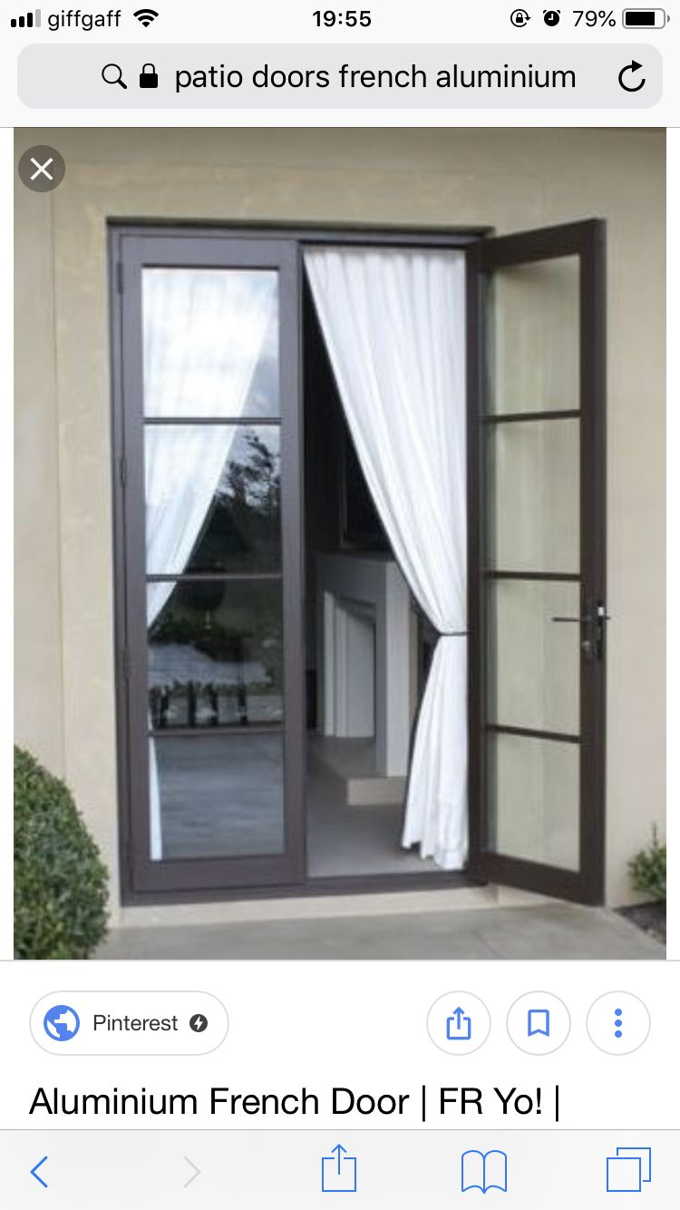 Pin By Benjamino On Ideas For The House French Doors Bedroom French Doors Patio Aluminium French Doors