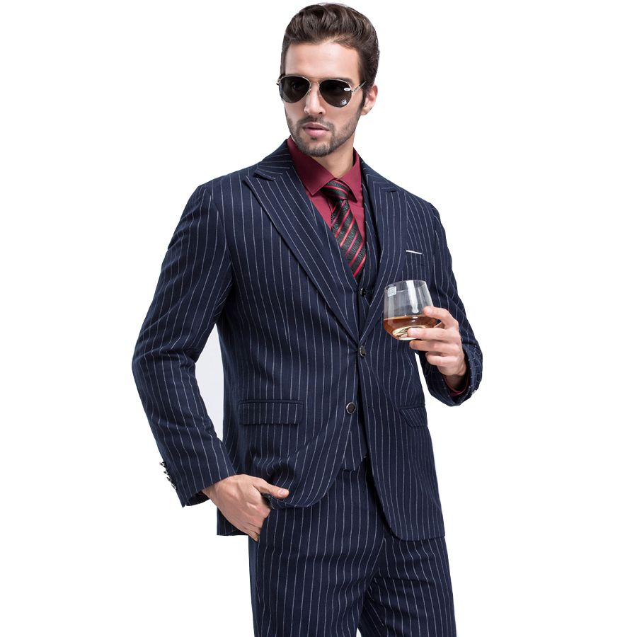 Click to buy ucuc men wedding suits new men suits jacket formal