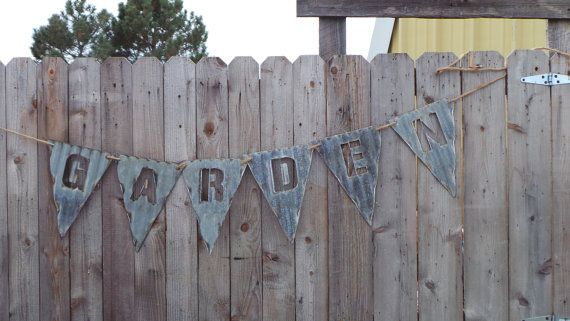 Pendent Farmhouse Corrugated Metalflags For Banners Vintage Barn Tin Spell What You Want Letters Symbols A Z With Images Barn Tin Corrugated Metal Metal Crafts