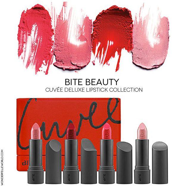 Bite Beauty Cuvée Lipstick Collection
