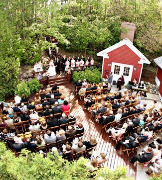 Blackstar Wineyards Wedding In Leelanau County Michigan