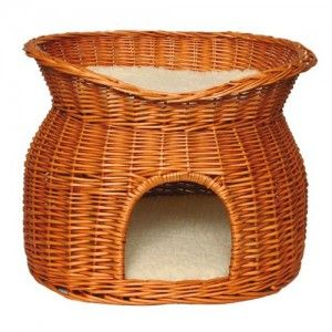 Trixie Wicker Willow Cave for House Rabbits