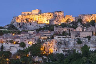 Medieval Town Of Les Baux De Provence France Medieval Town Cityscape France