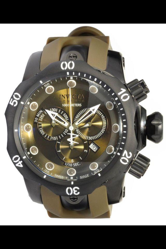 0de40e2472 Invicta venom army green | relojes | Reloj y Relojes hombre
