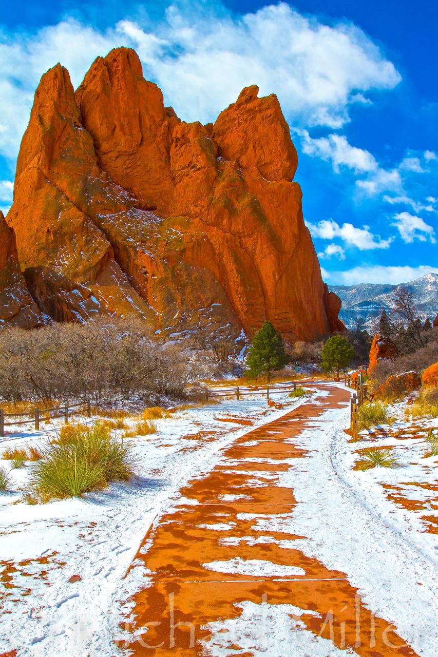 This was taken at Garden of the Gods in Colorado Springs, Colorado ...