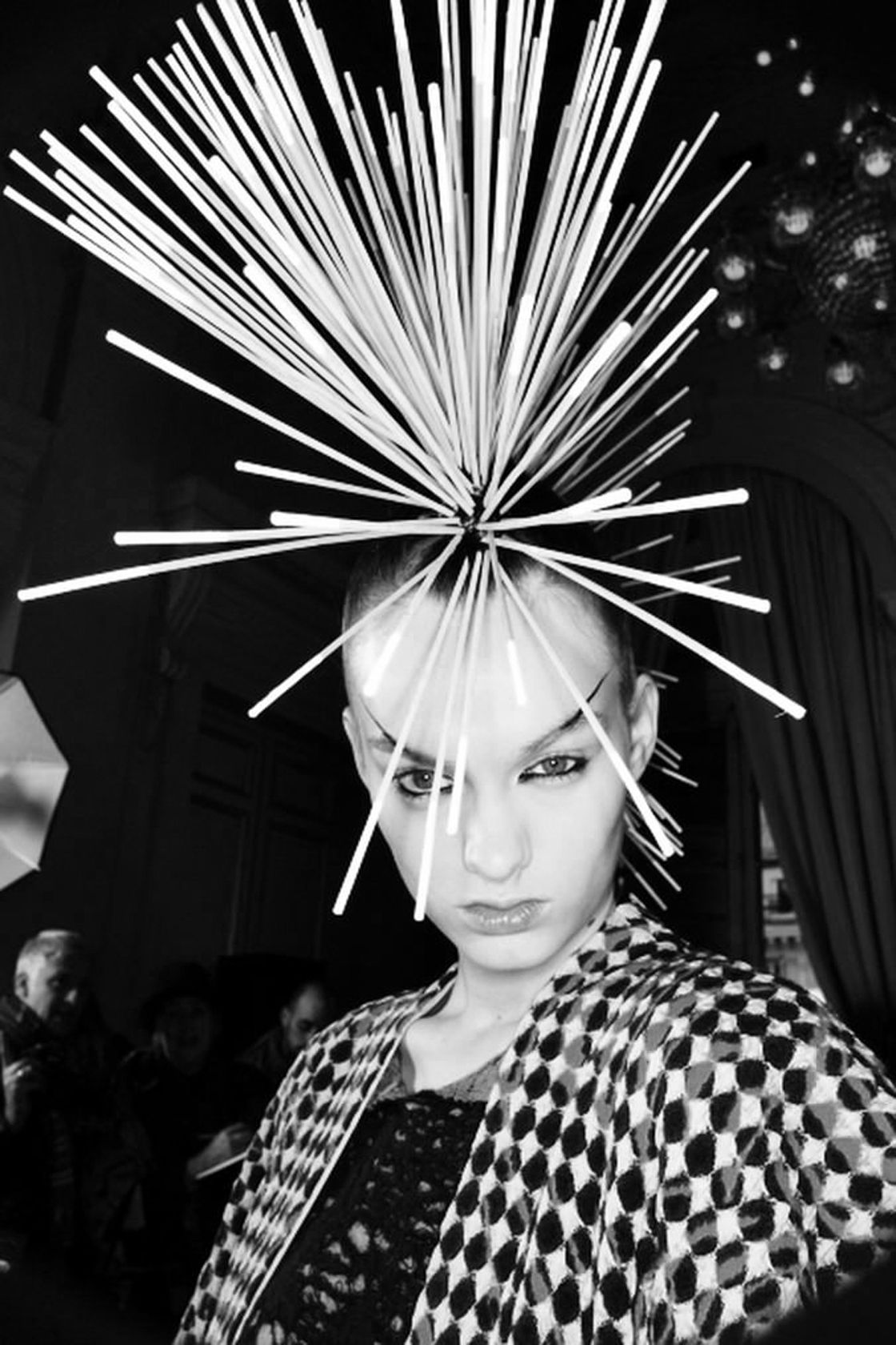 Mohawk spike sonny vandevelde u patternity things pinterest