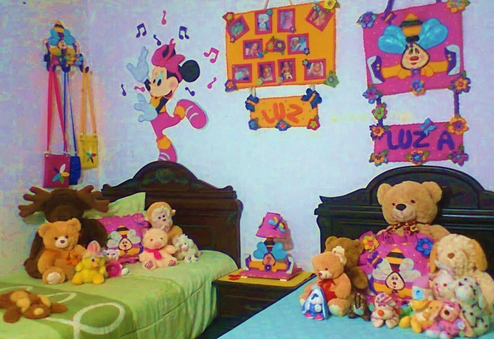decoración #foami #niñas #cuarto   cuarto de bbs   Decoración de ...