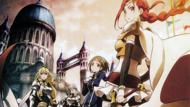Download Gate Jieitai Kanochi Nite Kaku Tatakeri Anime Knights
