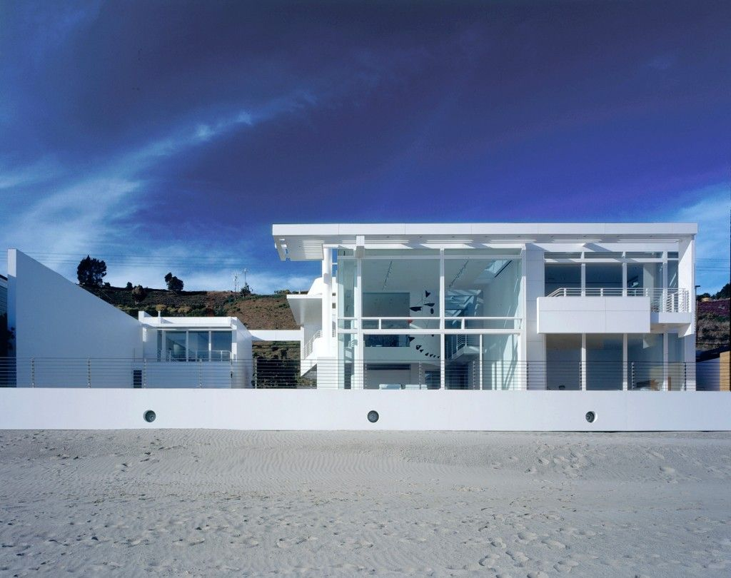 Southern California Beach House Richard Meier Partners Architects