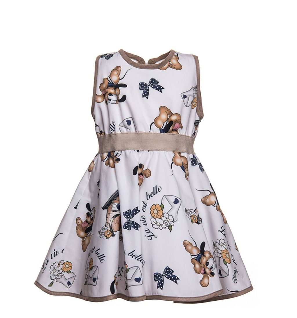 78713345d MONNALISA BABY DRESS PLUTO PRINT | children and baby, girls and boys ...