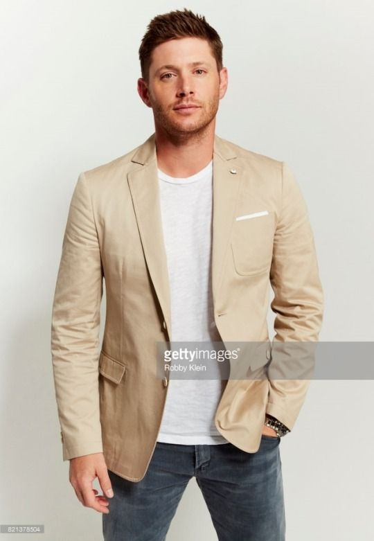 Jensen Ackles from CW's 'Supernatural' poses for a portrait during Comic-Con 2017