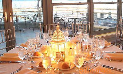 15 Bulk 12 Chic White Shabby Moroccan Candle Lantern Holder Wedding Centerpiece