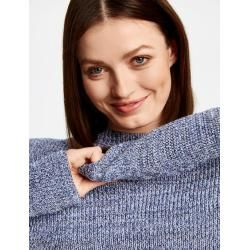 Photo of Pullover mit Tutleneck Blau Taifun