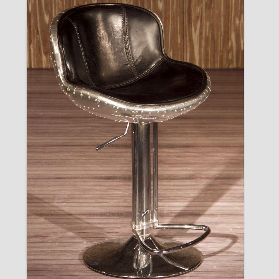 Vintage Leather Bar Stools Hocker Leder Barhocker Und Hocker
