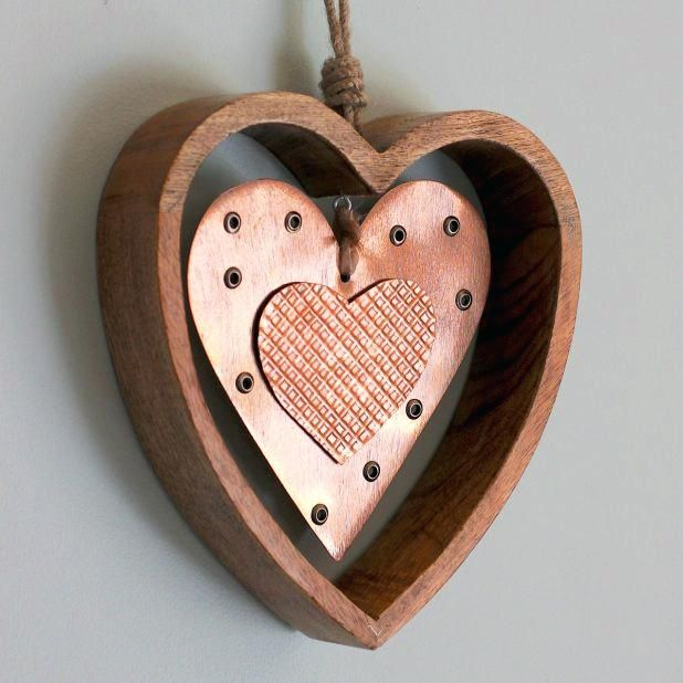 Large Metal Heart Wall Decor Magnificent Metal Hearts Wall Decor ...