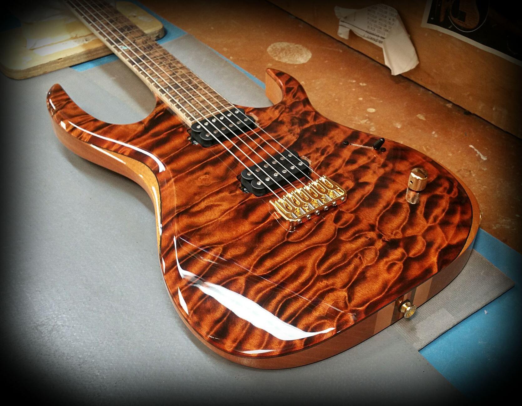 Kiesel guitars carvin k h th anniversary