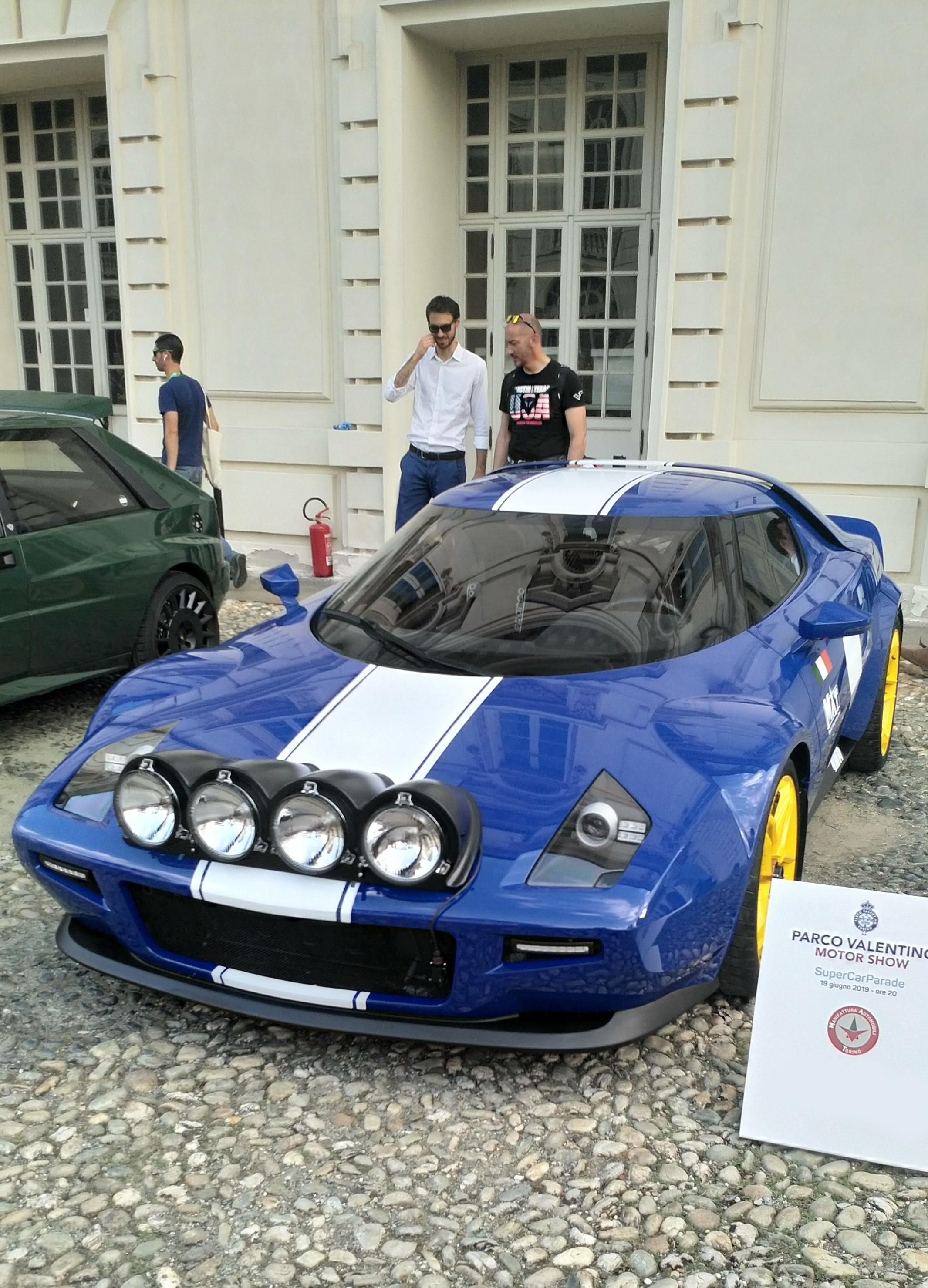 The New Lancia Stratos Unique Cars Super Cars Italian Cars