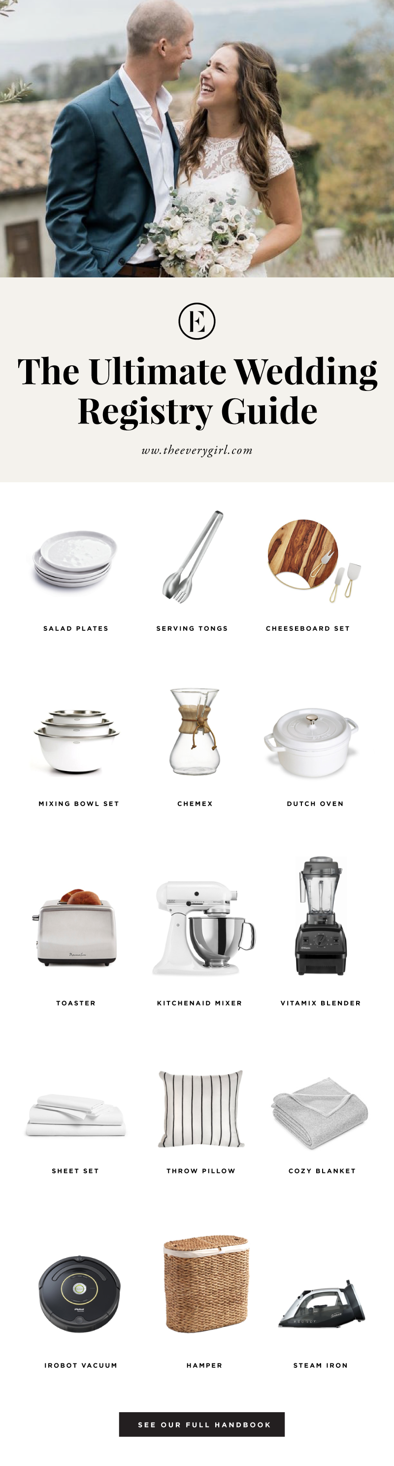 the ultimate wedding registry guide theeverygirl (With