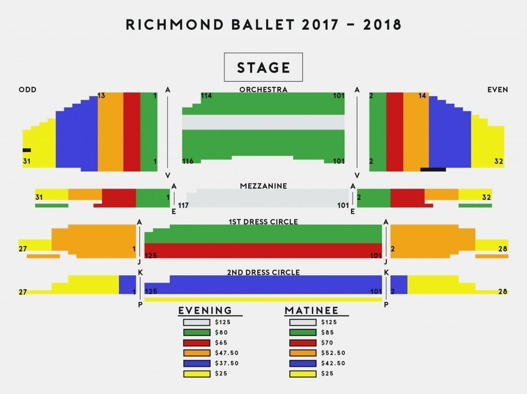 Ellie Caulkins Opera House Seating Chart