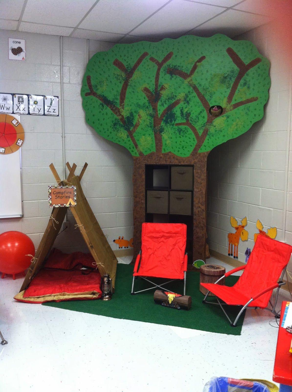 Camping Themed Classroom Camping classroom, Camping