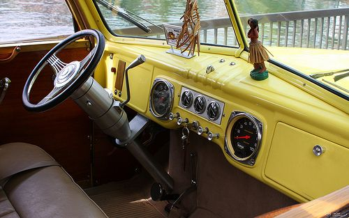 1949 Dodge Suburban Yellow 2100 Dodge Classic Trucks Suburban