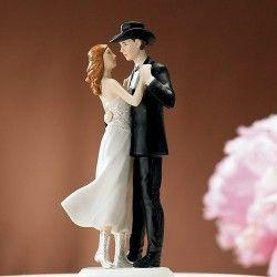 Produit En Fin De Série Mariage Cow Boy Gâteau De Mariage Romantique Gâteaux De Mariage Country