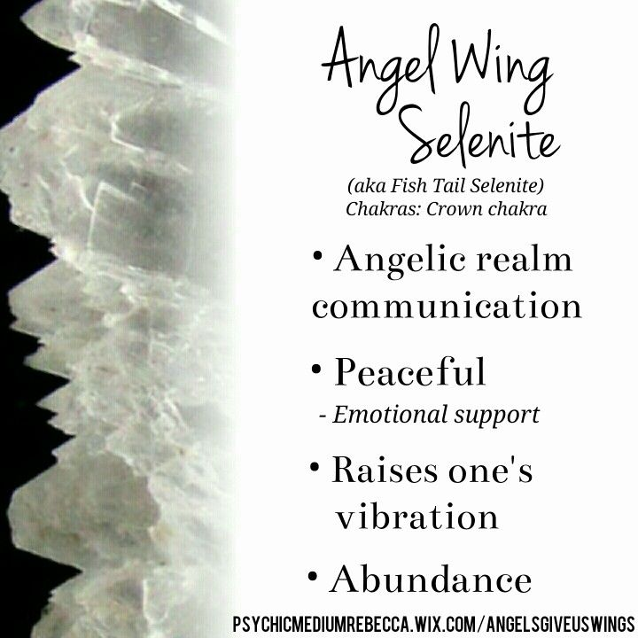 Angel Wing Selenite Crystal Meaning Crystal Meanings Healing Stones Crystals And Gemstones