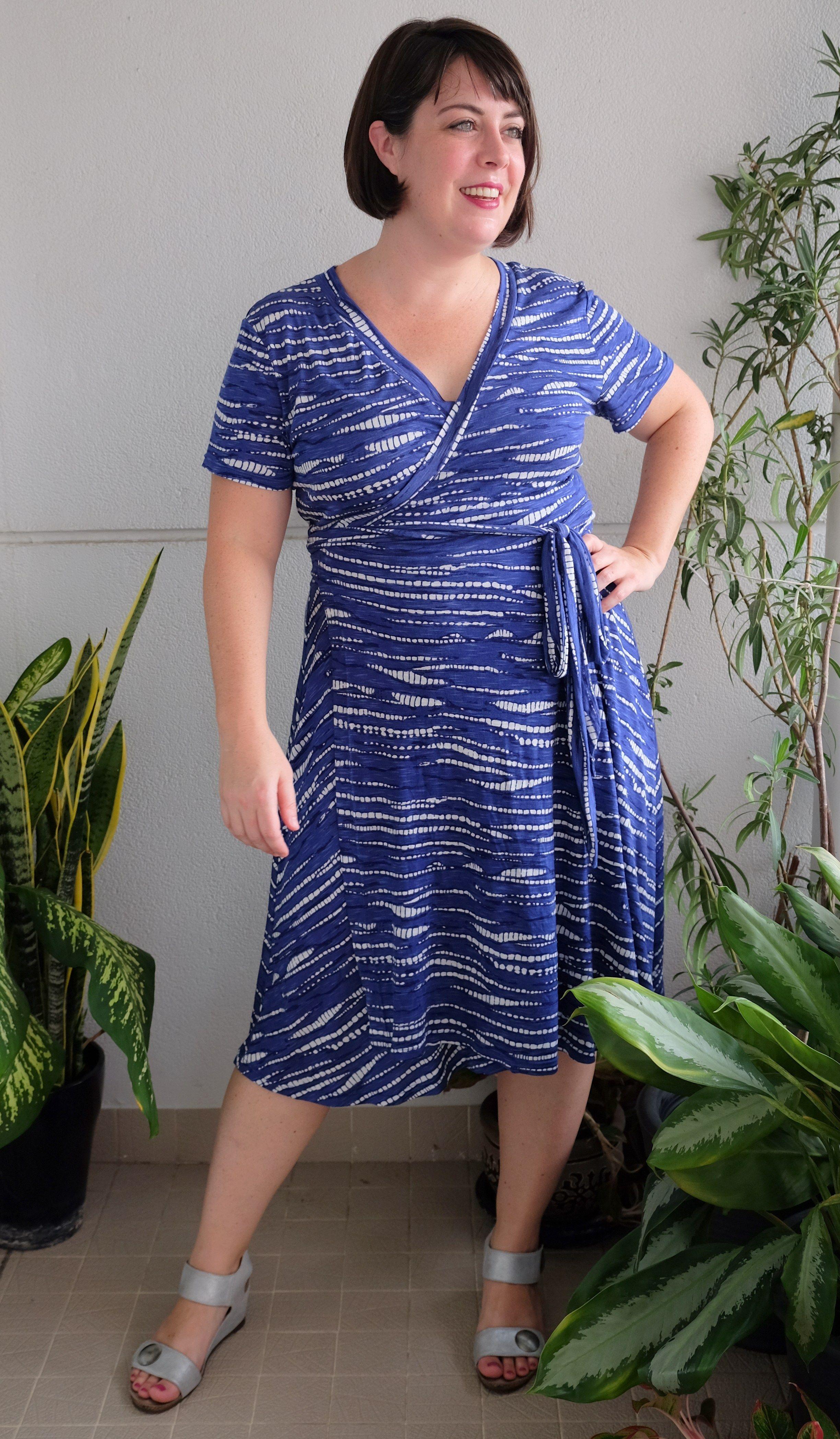 Pattern Review Wardrobe By Me Curvy Diana Wrap Dress Plus Size Outfits Dresses Wrap Dress [ 4193 x 2448 Pixel ]
