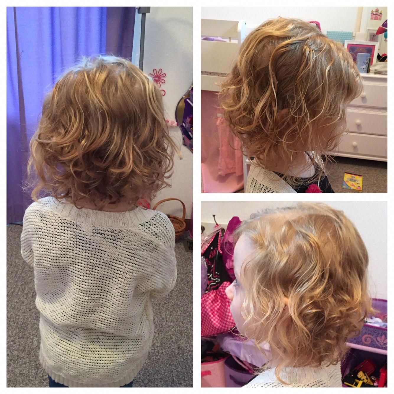 Curly Toddler Girl Hairstyles   Little Girl Short Haircuts For ...