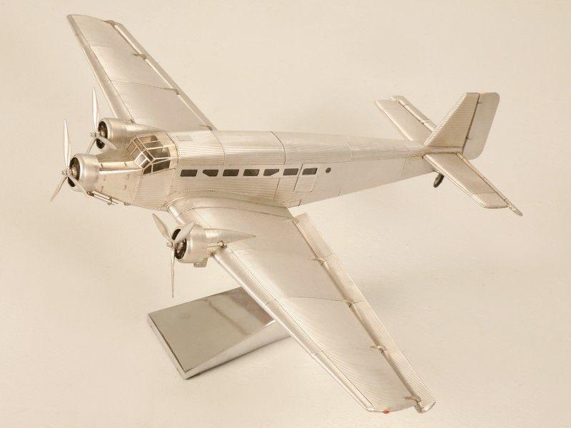 Vintage Junkers Ju 52 Desk Top Model Airplane for Sale | Old Plank ...