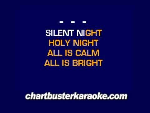 Silent Night (Chartbuster Karaoke)   Karaoke Fun!   Karaoke