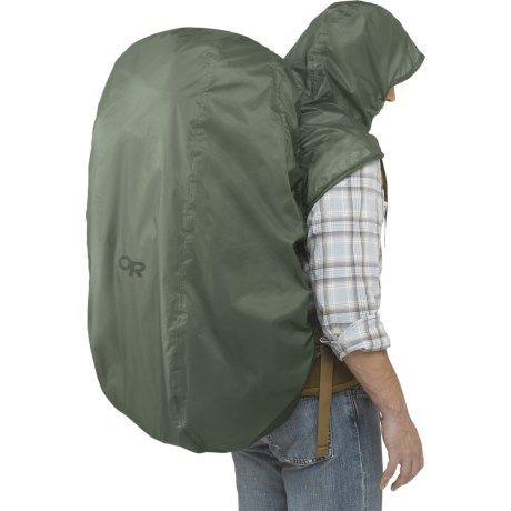 Outdoor Research Pack Hoody Rain Cover | Prep | Pinterest