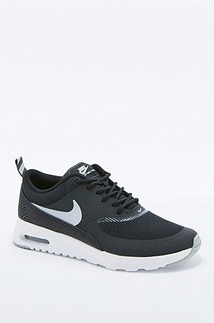 quality design c7fc0 234d5 Nike Air Max Black and White Thea Trainers - Urban Outfitters